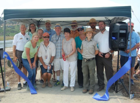 Wetlands restoration celebrated