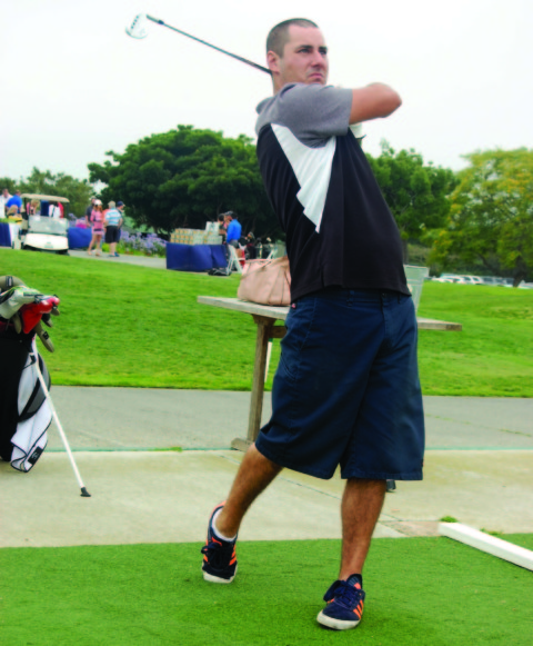Gold medals par for the course for Special Olympics golfer
