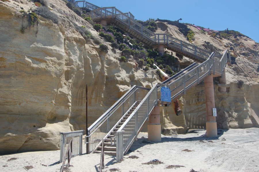 Contract awarded to repair Seascape Sur stairway