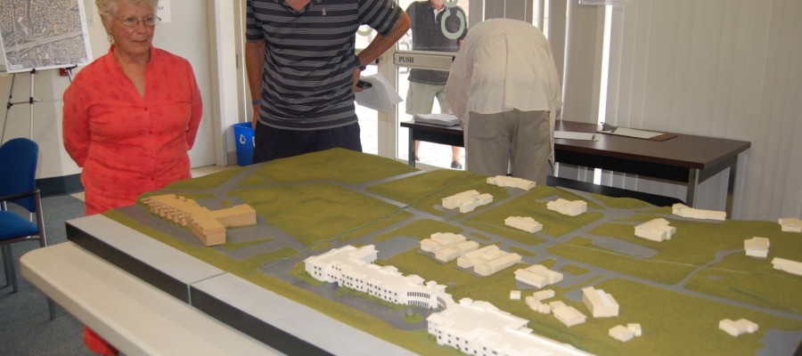 Residents get first look at proposed care facility