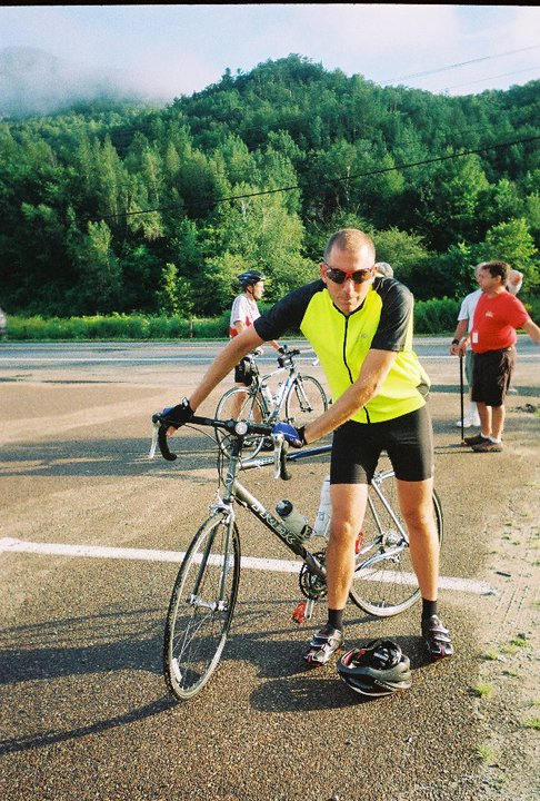 Associate professor and radio show host Ken Schneck discovered he was woefully unprepared for the 425-mile bike ride he signed up for in the summer if 2011 – but he hung in there and completed the ride from Montreal to Portland, Maine.