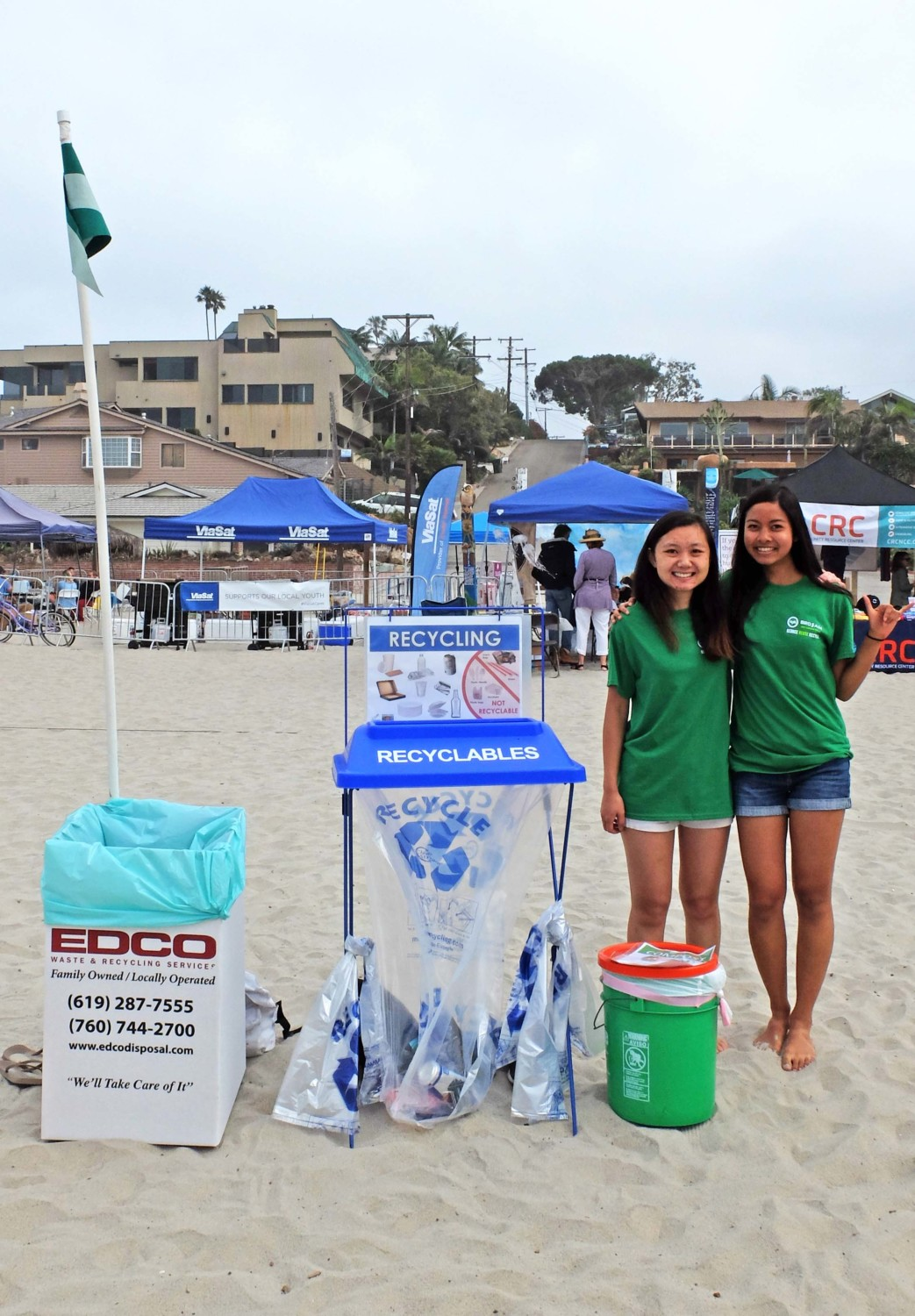 Waste declines, landfill diversion rises at city events