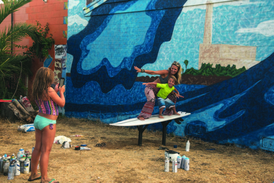 Artists collaborate on interactive art installation in Carlsbad Village