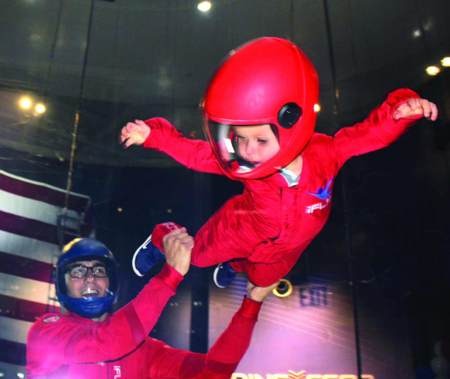 iFLY Indoor Skydiving opens for family fun