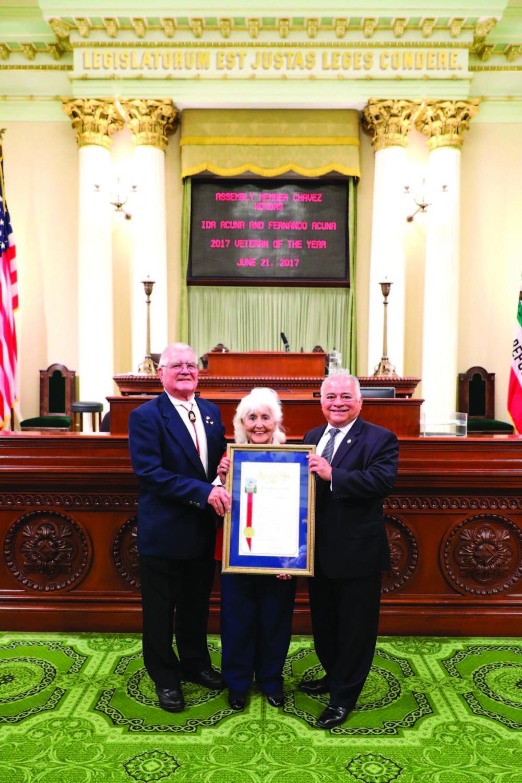 Local veterans receive District recognition