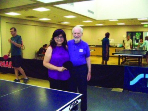 Senior table tennis champs share love of the game and each other