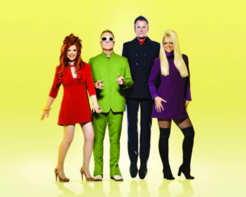 Get ready to dance, dance, dance with the B-52s