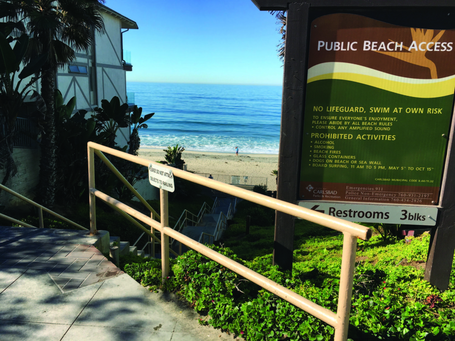 Carlsbad to upgrade ocean access points