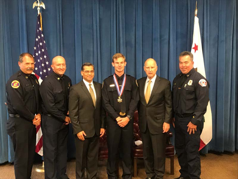 Lifeguard receives Medal of Valor for heroic rescue