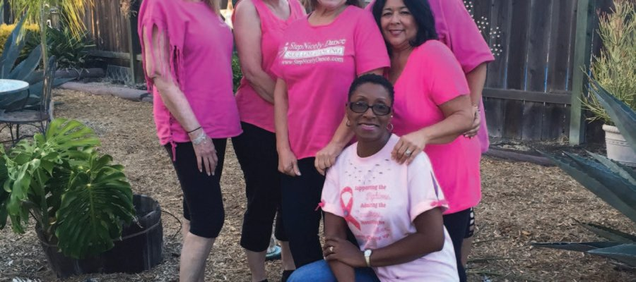 Dancers stand up for breast cancer patients