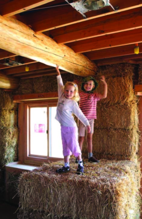 Straw house among North County stops on Green Homes Tour