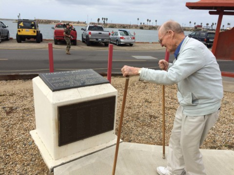 Marine vet plans ceremony to commemorate monument