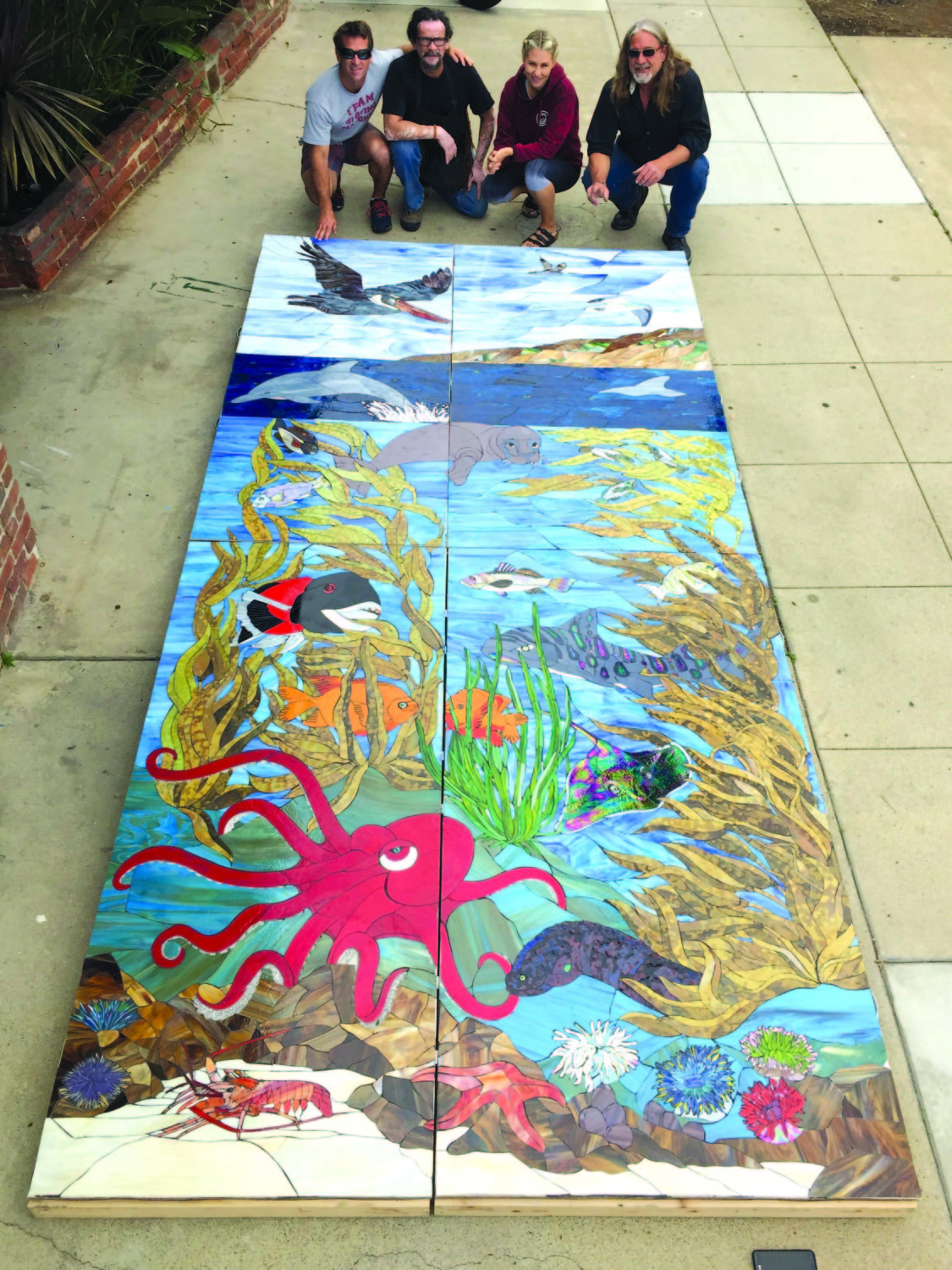 Nonprofit to loan mosaic to city for new lifeguard station