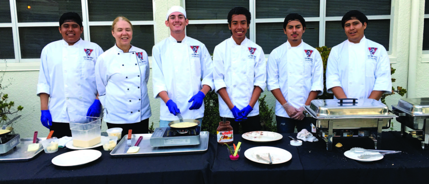 At Vista High, students can make it and dish it out