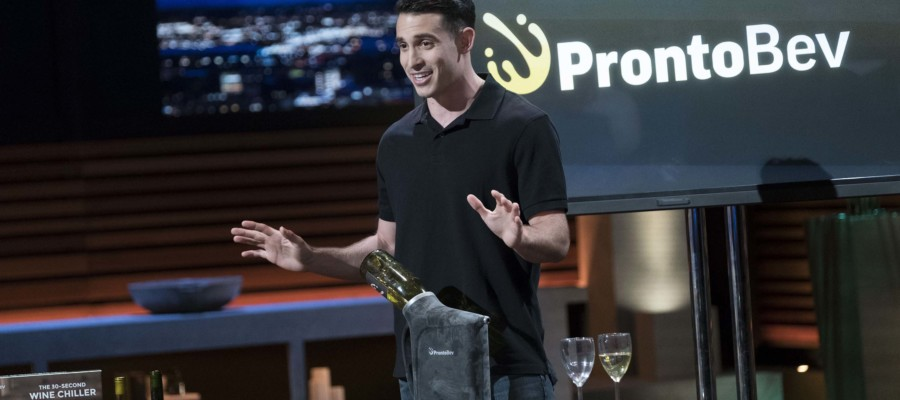 Local man in the 'Shark Tank'