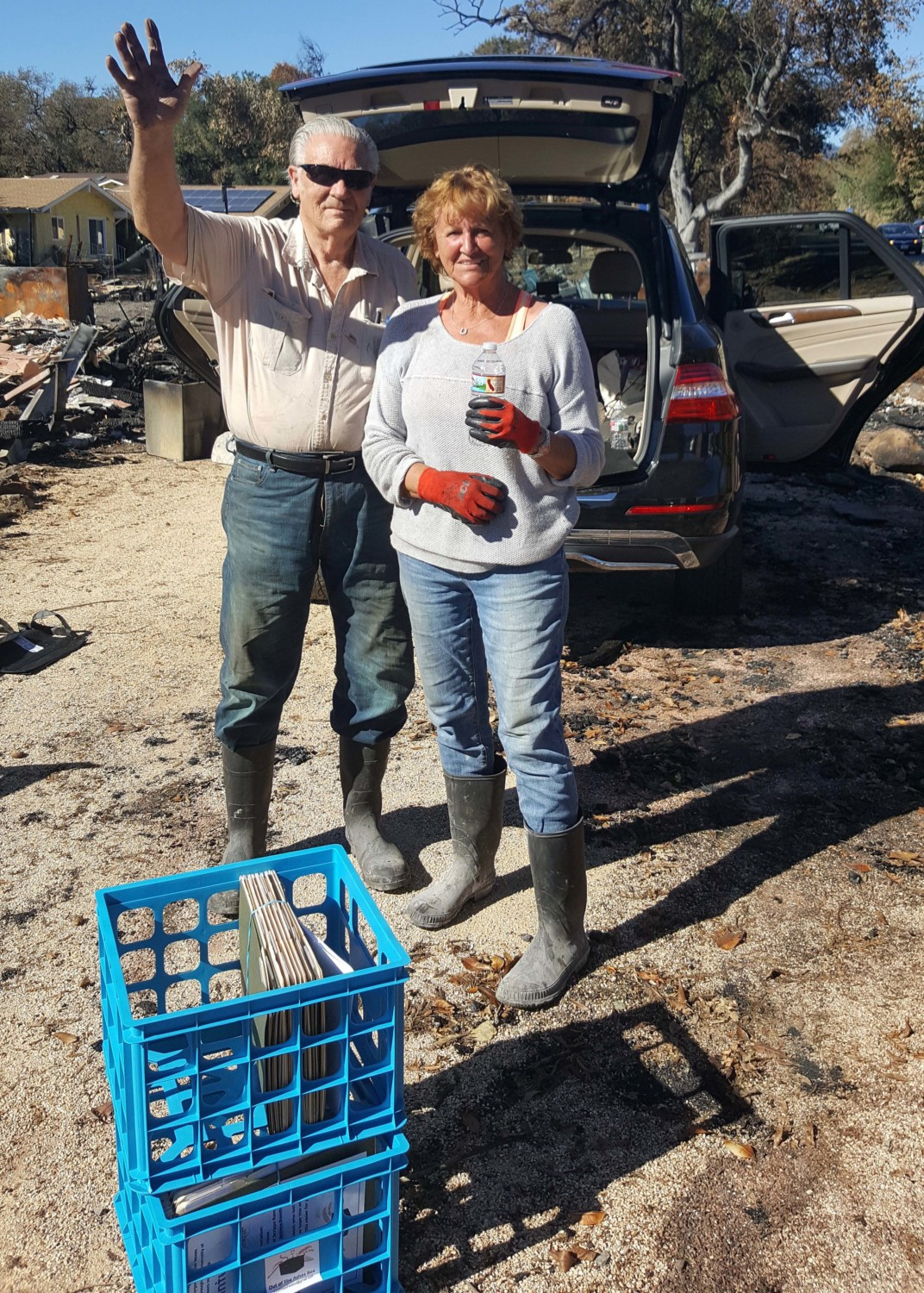 Survivors of Cedar Fire reach out to help Sonoma, Napa fire victims