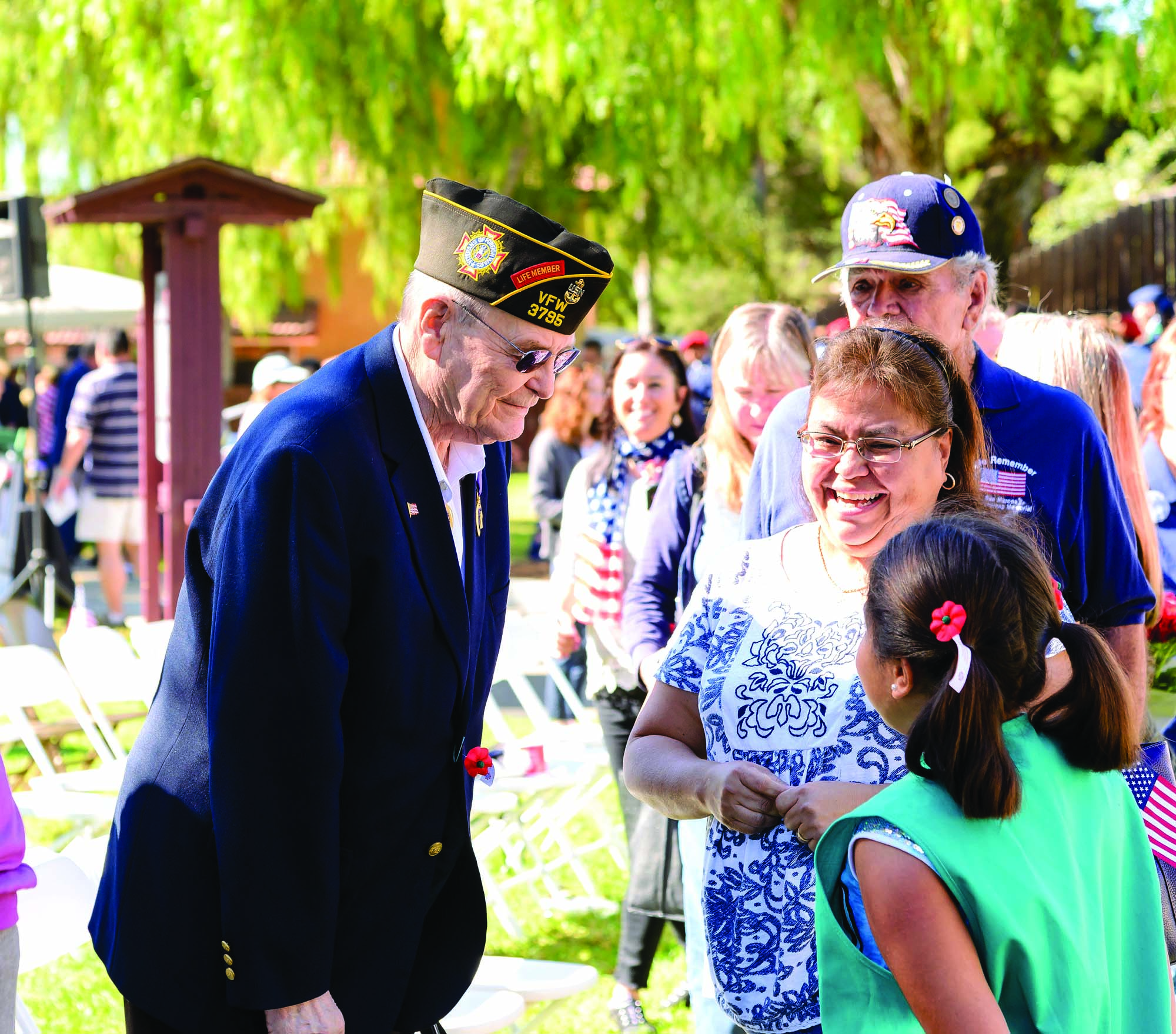 San Marcos ceremony honors veterans for their service