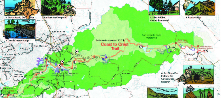 A hiker's challenge: Coast to Crest Trail