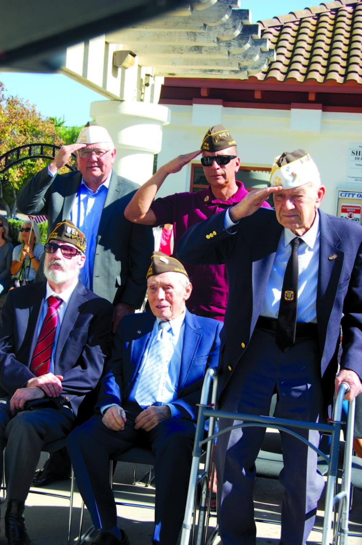 Retired Marine shares message of patriotism