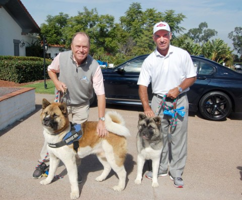 Golfers chip in to help save pets facing euthanasia