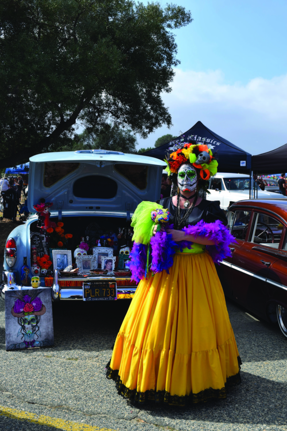 Thousands attend O'side's Dia de los Muertos