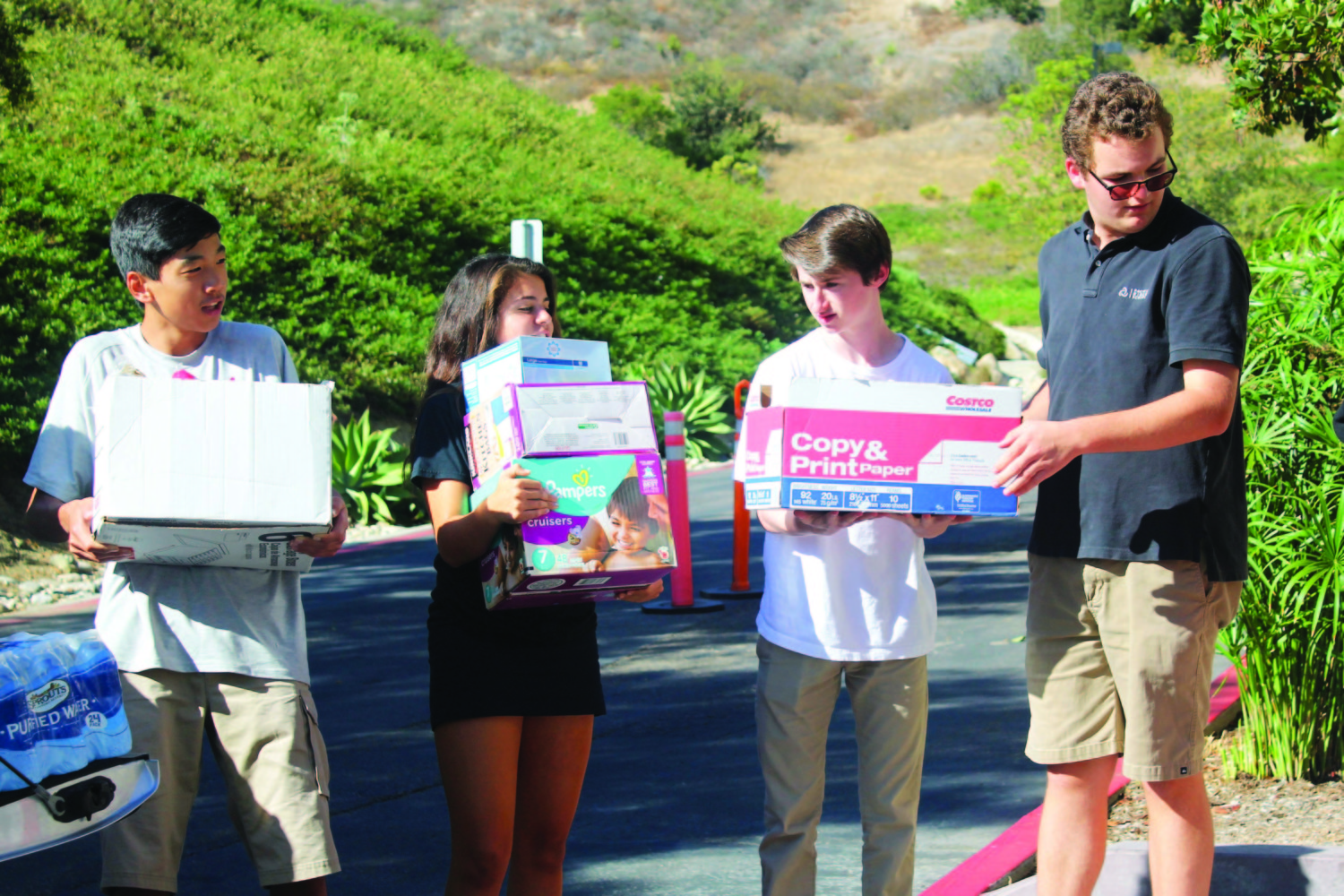 Student spearheads Puerto Rico relief drive