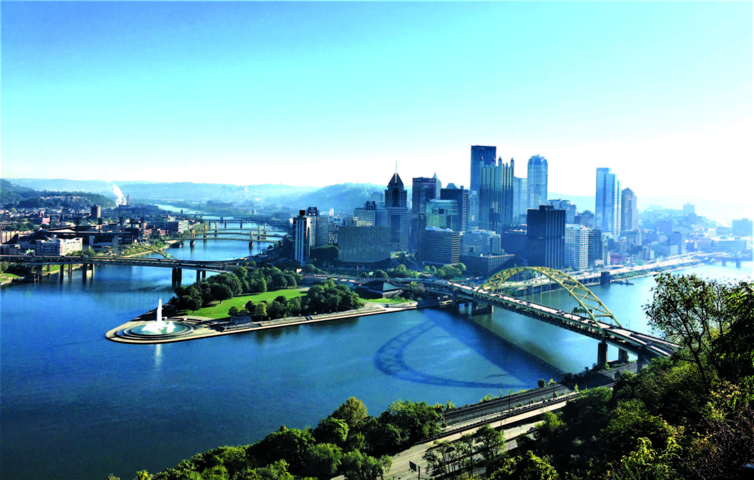Hit the Road: Pittsburgh goes from Smoky City to gleaming metropolis