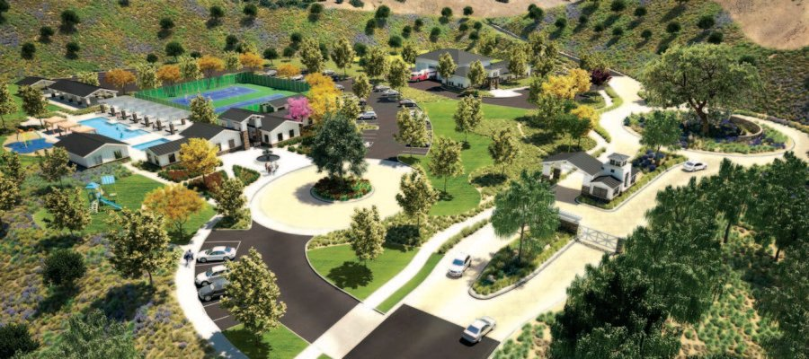 Lines drawn over proposed Safari Highlands Ranch
