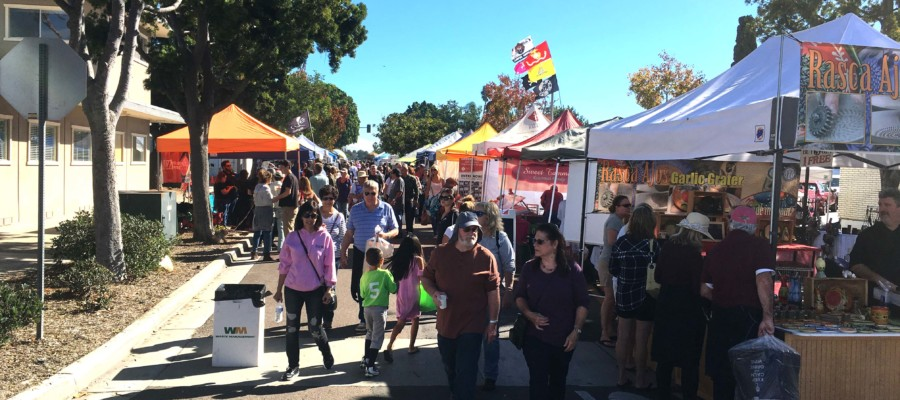 Thousands turn out for Carlsbad Village Faire