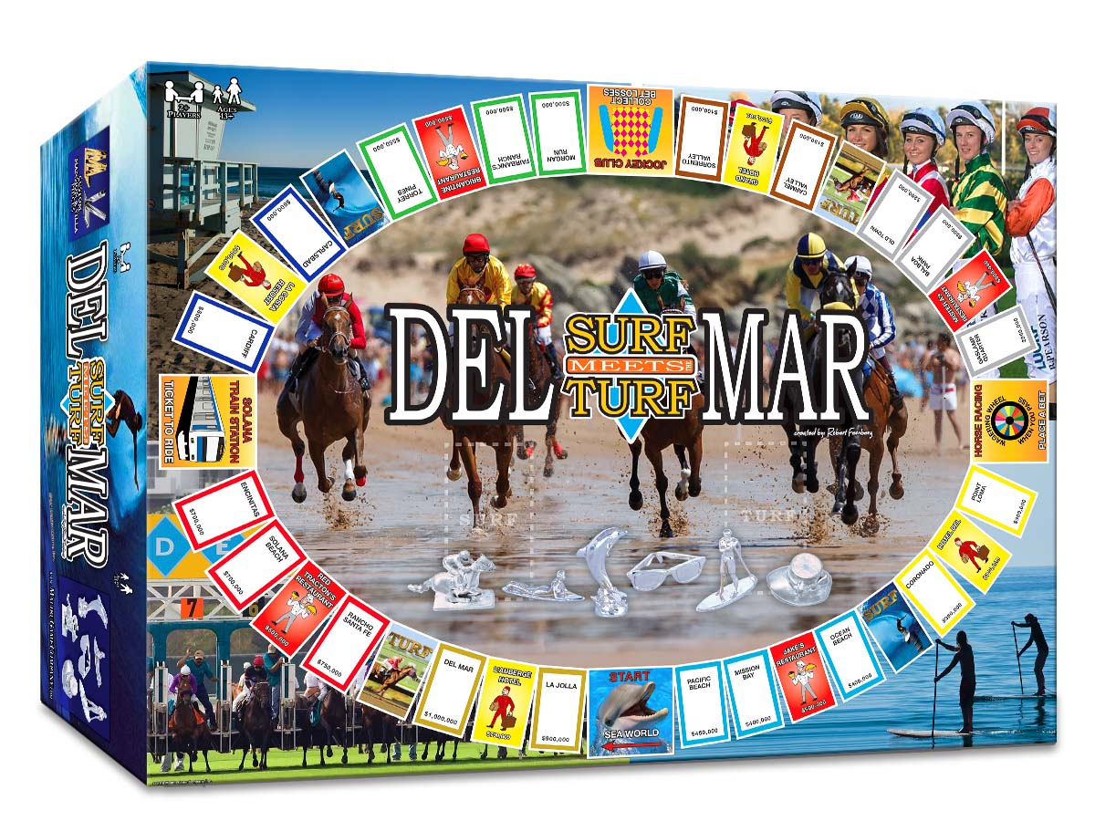 Del Mar on the game board map