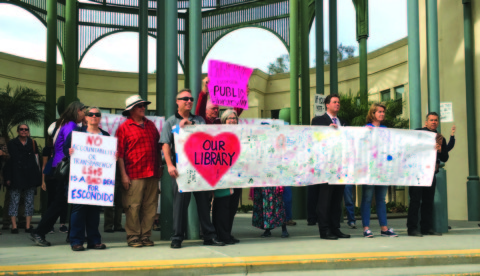 Fight for Escondido library heads to court