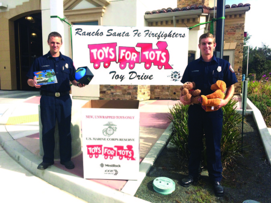 RSF Fire Toys for Tots drive underway