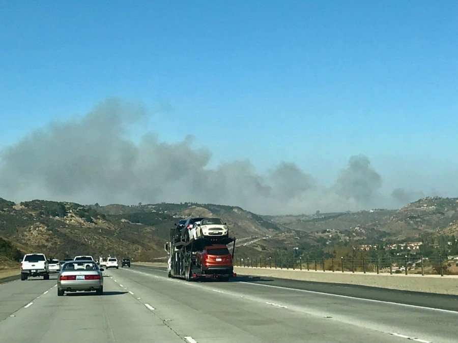 Update: Lilac Fire grows to 4,100 acres, could reach the ocean