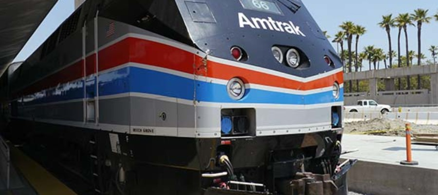 Woman killed by Amtrak darted in front of speeding train, authorities say