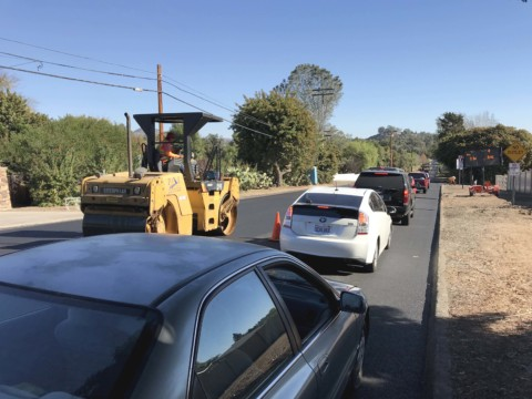Lone Jack Road gets makeover