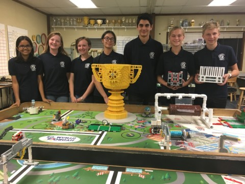 Valley Girls robotics team takes first