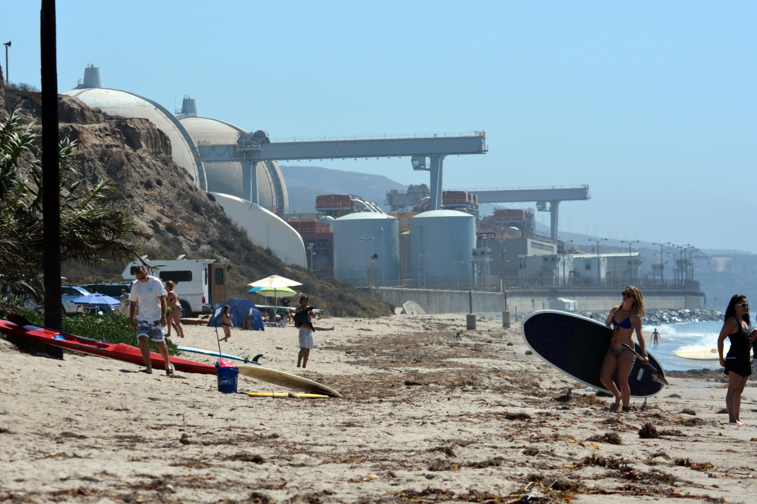 San Onofre: Nuclear waste storage legacy of closed plant