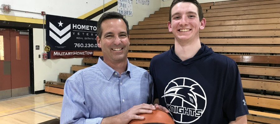Father and son reach 'term limits' on council and high school hoops