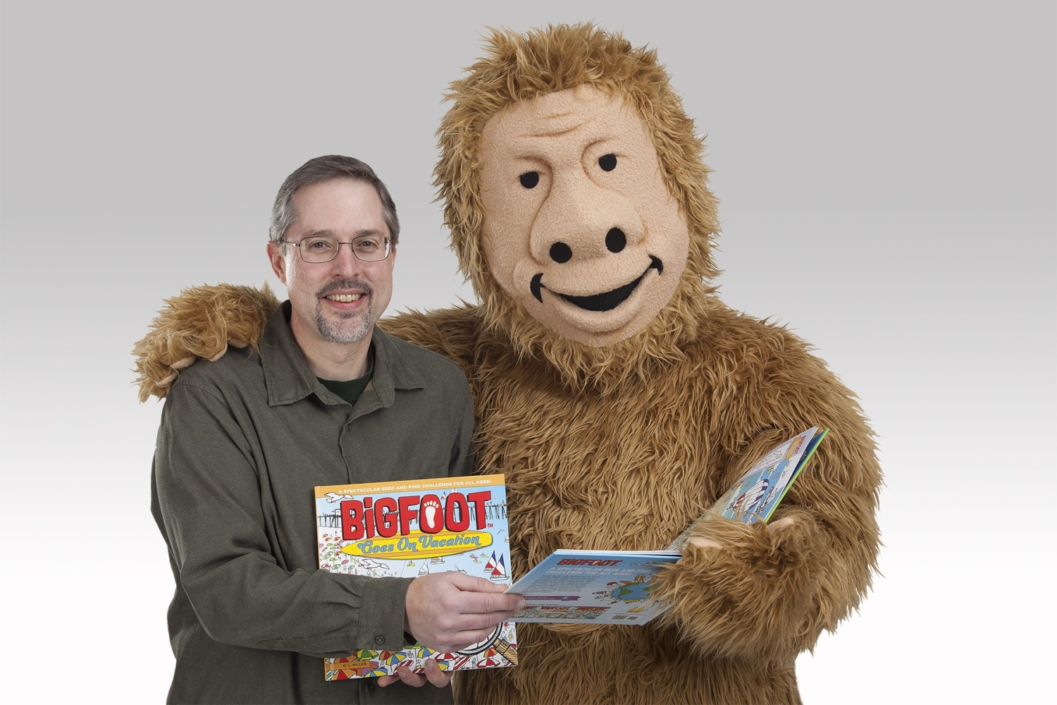 Hit the Road: Books invite readers to join educational hunt for Bigfoot