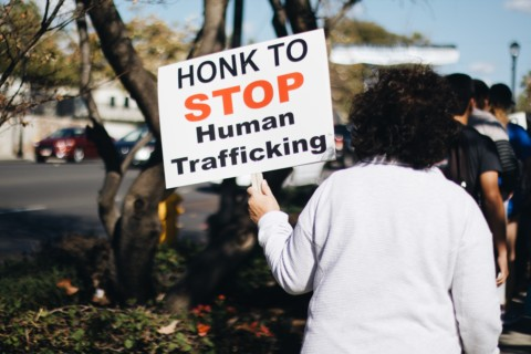 More than 150 walk to raise human trafficking awareness