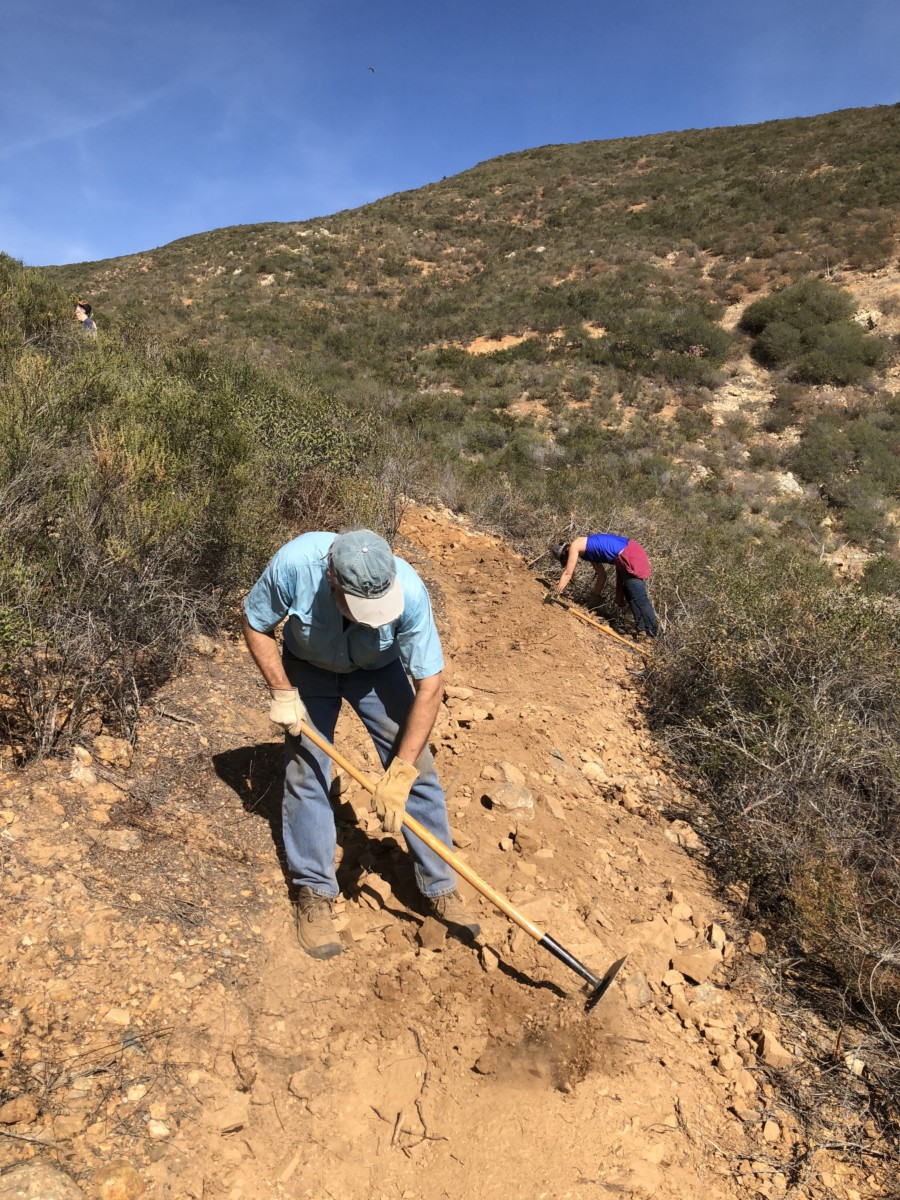 Escondido Creek Conservancy working to restore illegal trail
