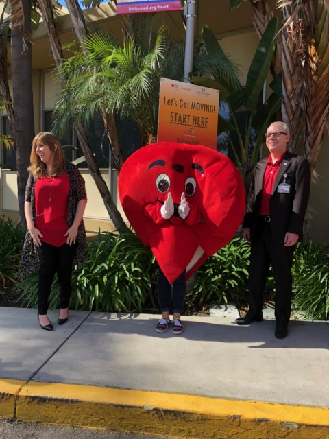 Tri-City hosts National Wear Red Day
