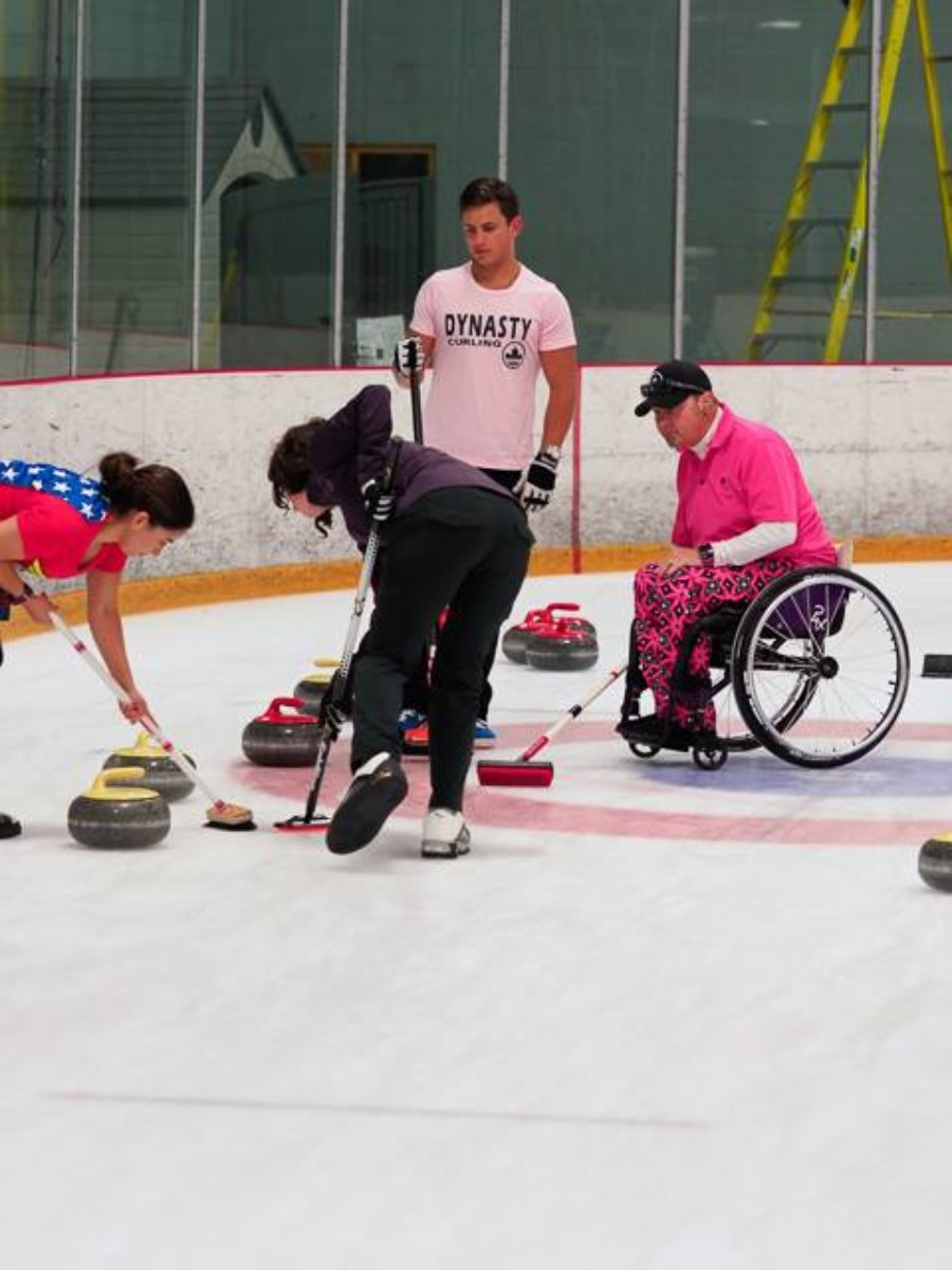 Curling is fun, but not as easy as it looks