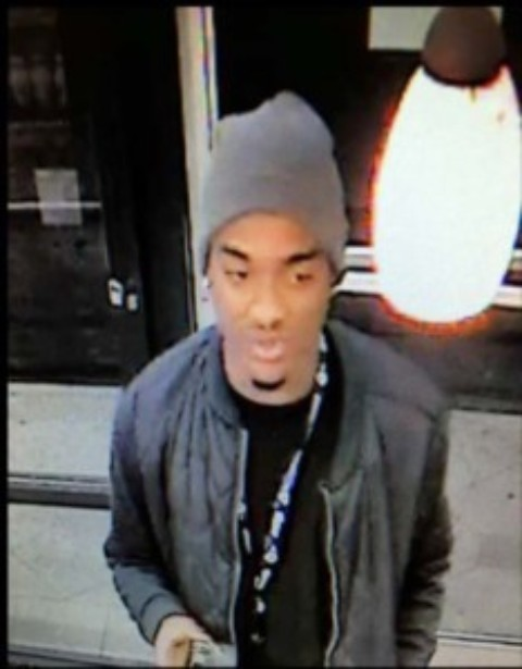 Help sought to ID suspect in doughnut shop robbery