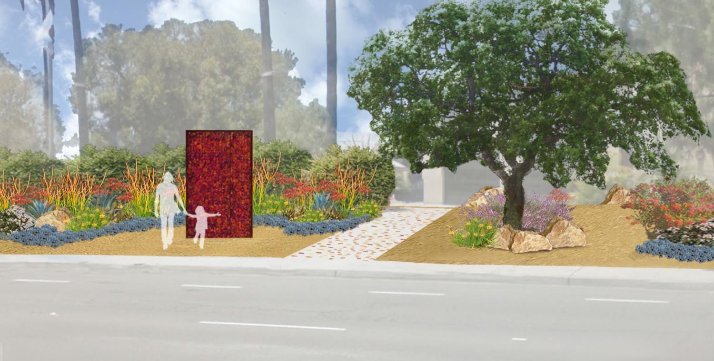'Fire Wall' art approved despite lukewarm support