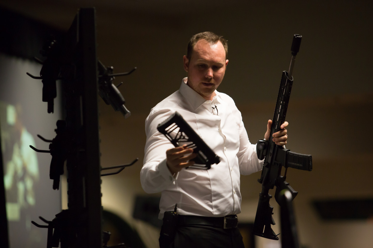 ARMS EDUCATION: Area gun owners attend convention to brush up on firearms and CA law
