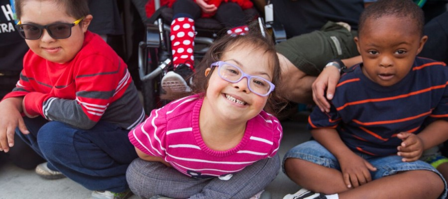 Elementary school celebrates World Down Syndrome Day