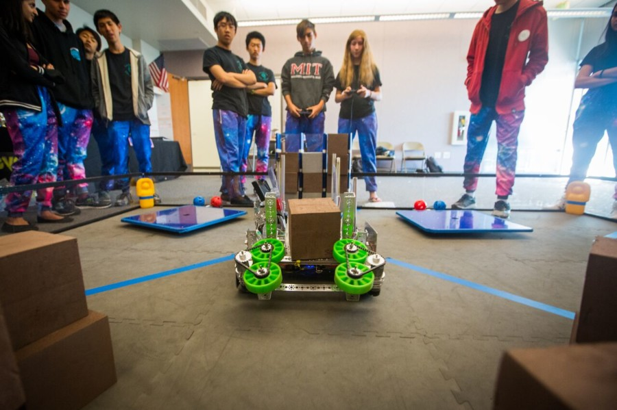 Sage Creek robotics team headed to world competition