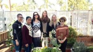 The RSF Garden Club had a follow-up site visit in Jan. at the San Diego Children's Discovery. Pictured are museum staff Tarah Martindale, Amanda Lee, Wendy Taylor, Kristen Hawkes, RSF Garden Club Executive Director Shelly Hart and RSF Garden Club Grant Committee member, Margo Atkins. (Courtesy Photo)