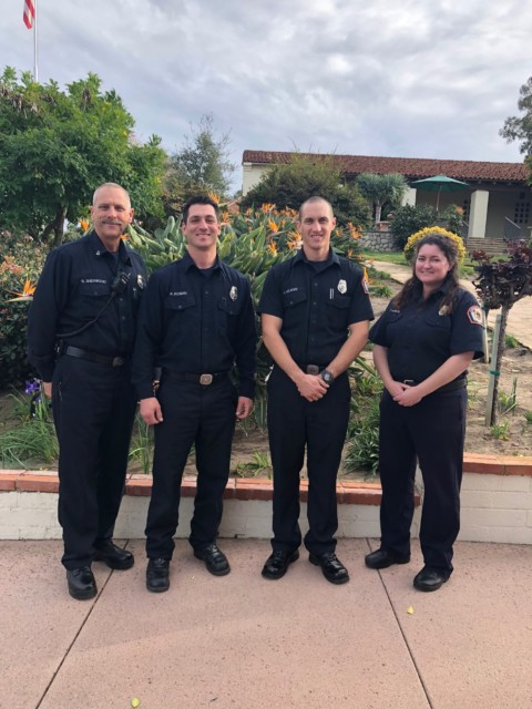 Fire Protection District takes part in Love Your Heart Day